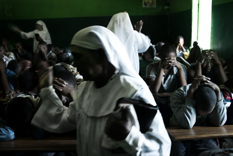 Christianity is prominent in Malagasy society, as it is in jail.