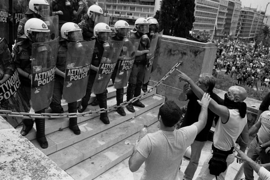 Athens Crisis-scape