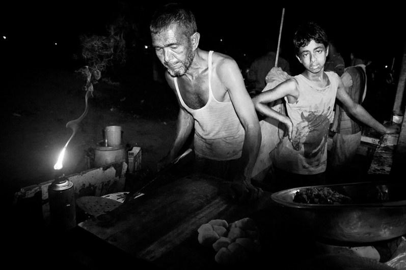 Midnight snack vendors