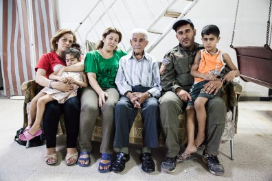 Whilst the elderly father in this family reminisces about the the good old days of the regime, his son has opted to join the local militia force, Sutoro, totake up arms and defend the future for his community.