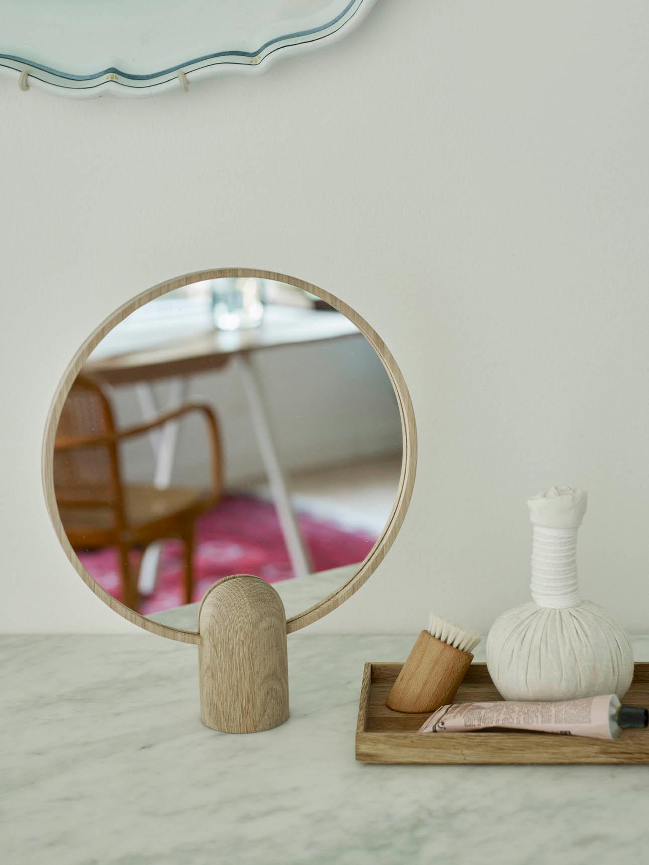 Skagerak Aino Spejl Se Det Runde Og Dekorative Skagerak Handspejl Her