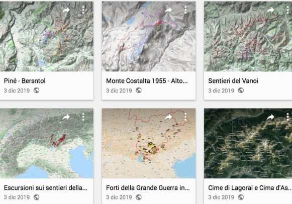 Varie mappe con Google Maps