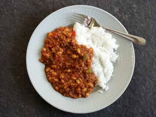 Bildresultat för Chili con carne ris