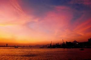 鯉魚門日落