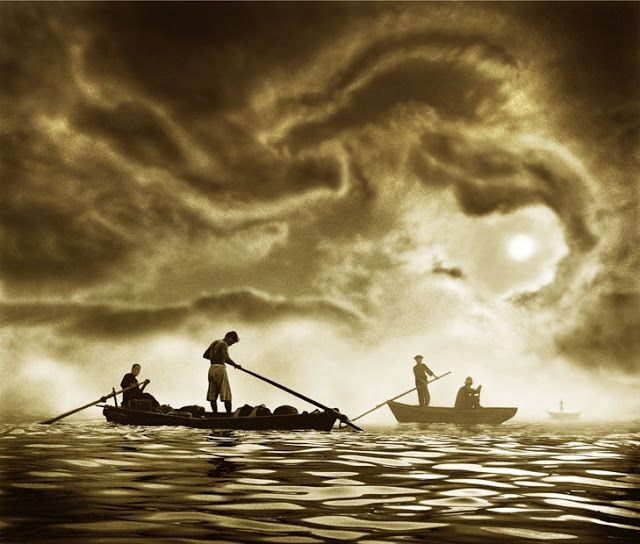 Hong Kong photographer from 1960s Ho Fan 何藩. Dragon in the sky?!