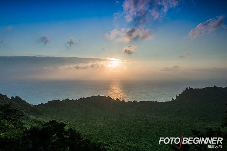 拍攝日出,太陽其實上升得很快,調較快門速度必須迅速。