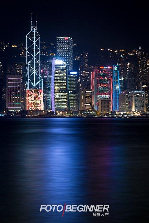 要說到城市的夜景和地平線,不能不提著名的香港維港景色吧!