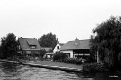 Waterkant woonhuis van Echtpaar de Ridder en Mevrouw van Mijl.