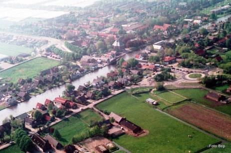 Foto Bep Rodenburg in de helie.