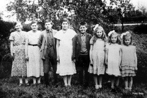 Alle kinderen van Gerrit van Tol.
