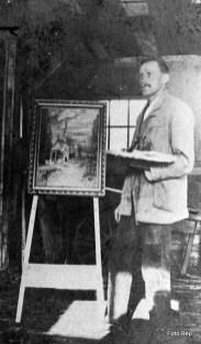 Willem van der Horst kon ook mooi schilderen op doek.