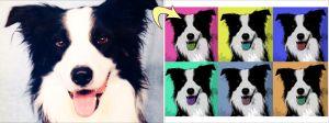 Pop-Art collage