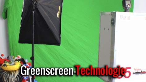 Fotobox mieten Greenscreen