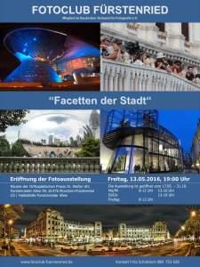 """Flyer """"Facetten der Stadt"""""""