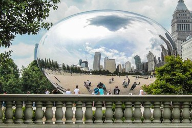 Helmut-Cloudgate Chicago
