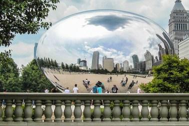 Helmut-Cloudgate Chicago