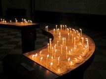 Opferkerzen im Ulmer Dom