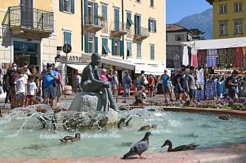 Fritz-Lago di Garda-0081 Wochenmarkt in Riva Kopie