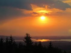Sonnenuntergang Herrenchiemsee