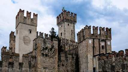 Castello Scaligero - Friedrich Weigel