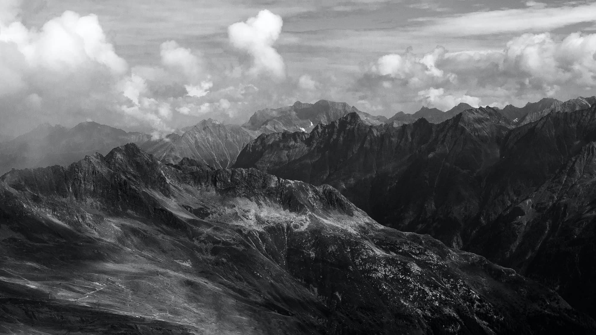 Berglandschaft - Annahme - Friedrich Weigel