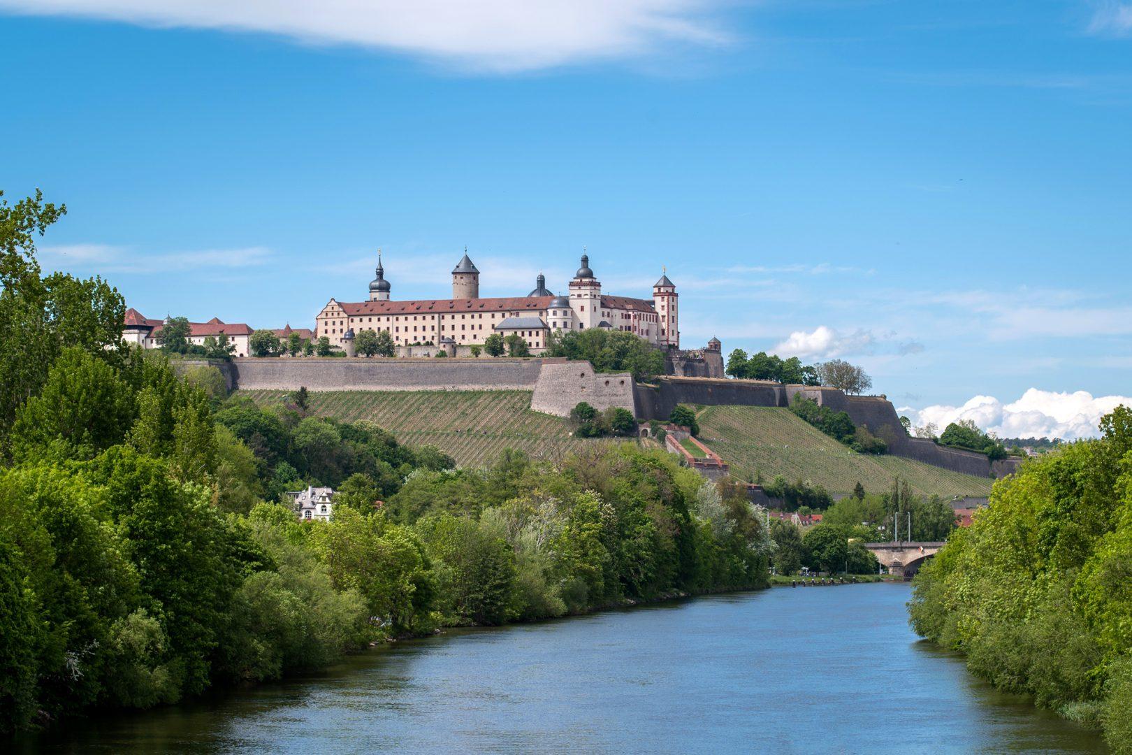 Festung Marienberg - von Friedrich Weigel