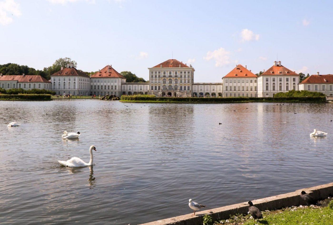 Schloss Nymphenburg - von Andrea Seiss - Nachmeldung für August