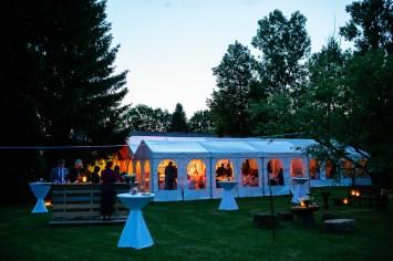 Hochzeitsparty in Köngen