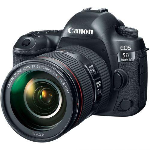 Canon Eos 5D Mark Iv Dslr Camera Ef 24 105Mm F4 L Is Usm Ii Lens 1