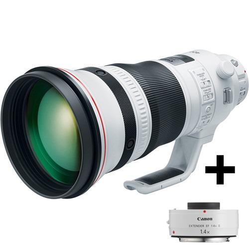 Canon EF 400mm f2.8L IS III USM Lens with + FREE Canon Extender 1.4x Mk III