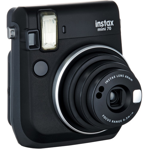 Fujifilm Instax Mini 70 Instant Film Camera Black 1