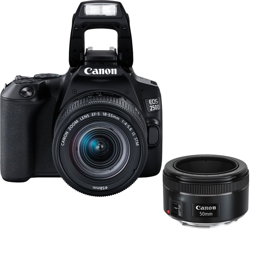 Hot Buy | Canon EOS 250D - DSLR Camera - Portrait Kit For Sale In ...