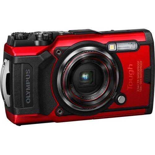 Olympus Tough TG-6 Underwater Camera ( Red )