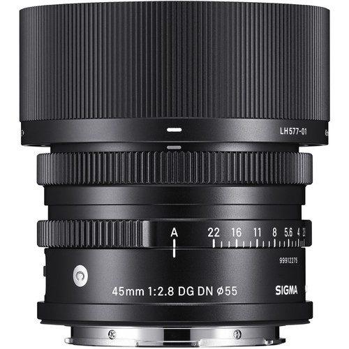 Sigma 45mm f2.8 DG DN Contemporary Lens for Leica L
