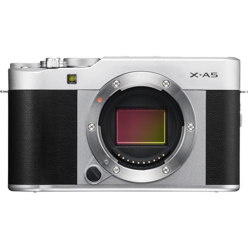 Fujifilm X-A5 Mirrorless Digital Camera Body Only (Silver)