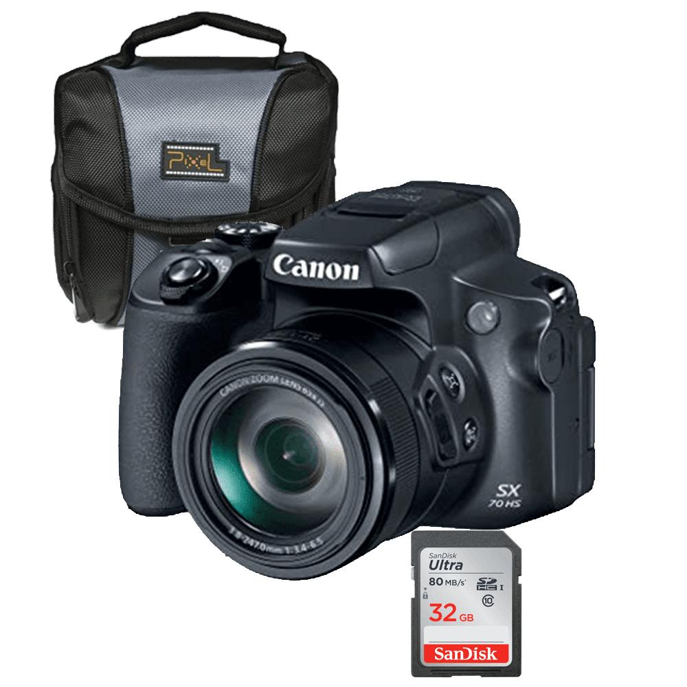 Canon SX70 Ultra Zoom Digital Camera Value Bundle