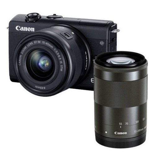 canon m200 double lens kit