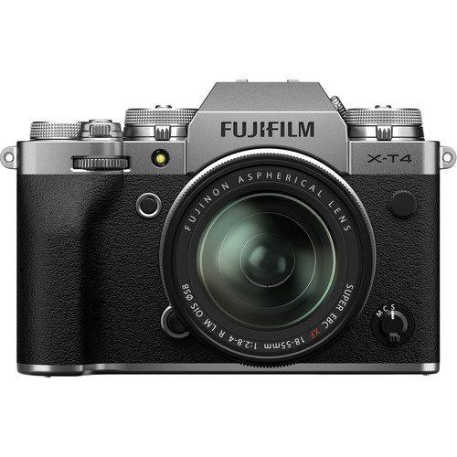 fujufilm x-t4 18-55 silver