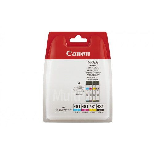 Canon CLI-481 MULTIPACK and 50 Sheet PP-201 4 X 6