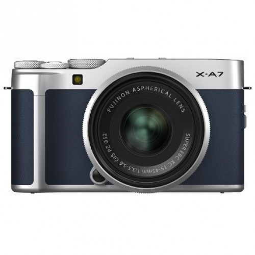 Fujifilm X-A7 Kit 15-45mm (Navy Blue)