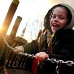 Profesionální fotografie dětí na hřištích