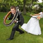 Svatební inscenovaná fotografie