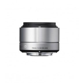 Sigma MFT 19mm F/2.8 zilver ART DN voor Panasonic G, Olympus MFT