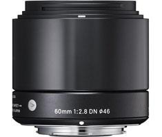 Sigma MFT 60mm F/2.8 zwart ART DN voor Panasonic G, Olympus MFT