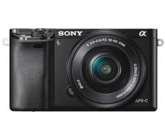 Sony A6000 zwart + 16-50mm powerzoom