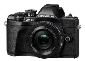 Olympus OMD E-M10 mark III zwart + 14-42mm EZ zwart