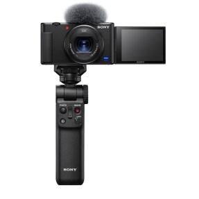 Sony vlog camera ZV1 + GP-VPT2BT bluetooth vlogging grip-0