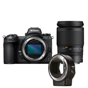 Nikon Z6 II + 24-200mm f/4.0-6.3 + FZT Mount Adapter