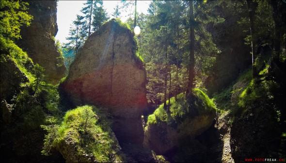 Wanderung zum Ofenloch (Neckertal)
