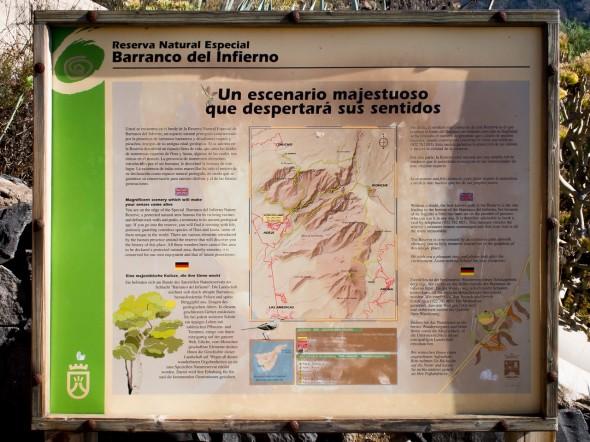 Teneriffa - Barranco del Infierno
